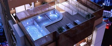 stunning roof terrace design  rooftop pools