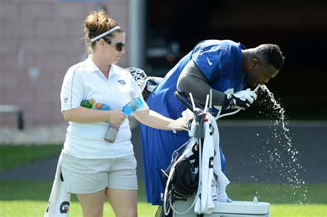 new york giants athletic interns reflect on mini c nfl trainer intern articles