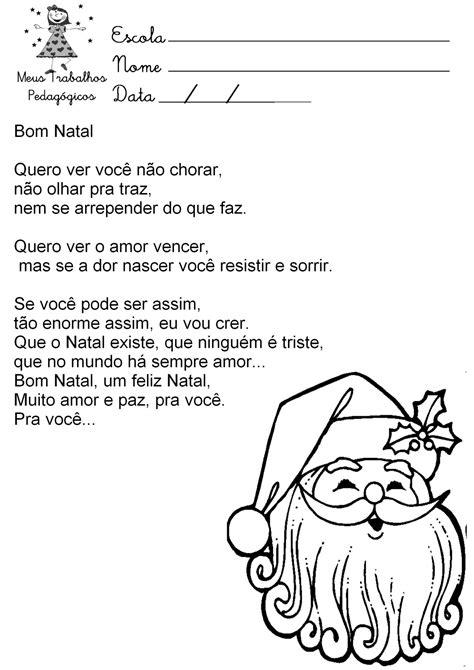 Música nas escolas: Músicas de Natal.