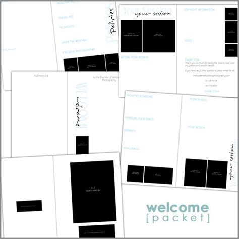 Information Packet Template Welcome Packet Includes Your Session Copyright Usage