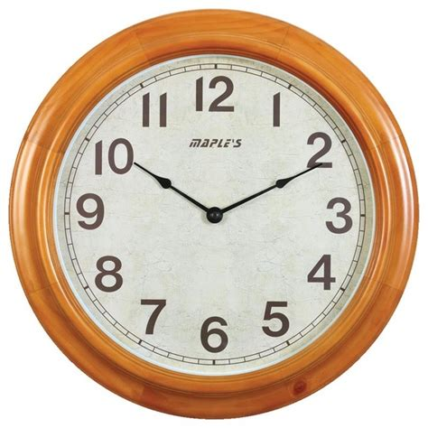 traditional wall clock 16 in wooden wall clock traditional wall clocks