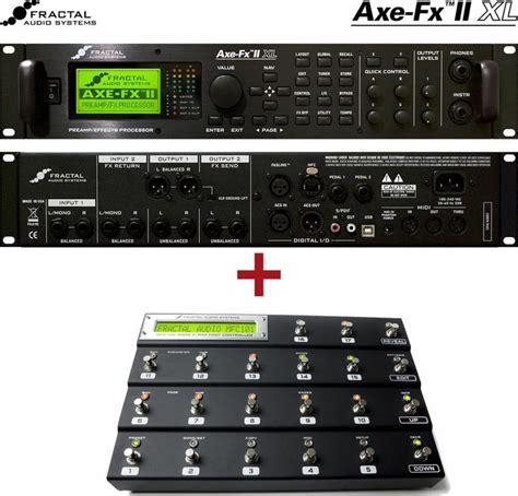 tutorial axe fx 2 details about fractal audio axe fx ii mfc 101 foot