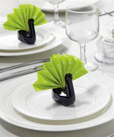 Paper Napkin Folding Ideas - paper napkin folding create festive