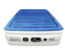 soundasleep cloud nine air mattress insta bed raised air mattress with never flat 2018