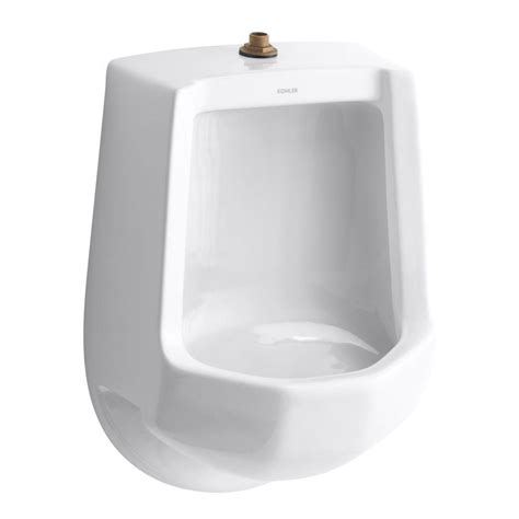 Home Design White Kitchen by Kohler Freshman 1 0 Gpf Urinal With Top Spud In White K