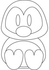 what color are penguins penguin coloring pages 3 coloring