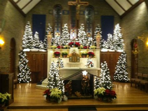 christmas decorating ideas for churches altar decoration for billingsblessingbags org