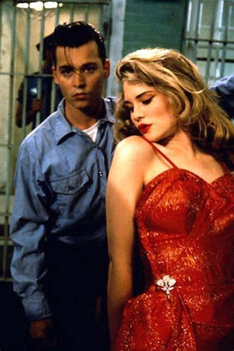 se filmer oh baby cry baby johnny depp and allison amy locane in 1990
