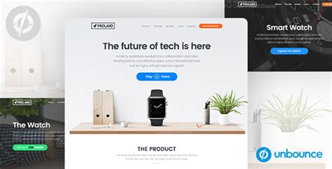 product landing page templates 15 best unbounce landing page templates 2018