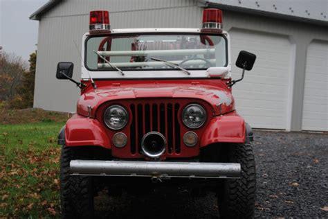 jeep brush truck 1974 jeep cj 5 truck brush truck jeep cj