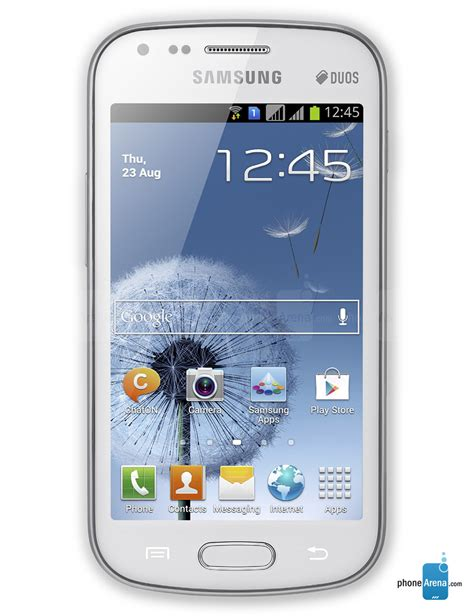 Samsung Duos Samsung Galaxy S Duos Specs