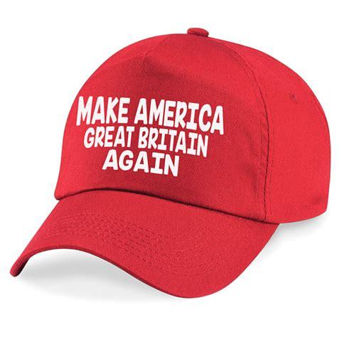 make america great britian again baseball cap hat