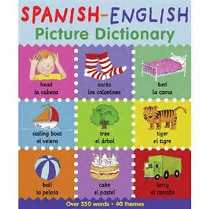 Spanish english picture dictionary barrons juveniles toys quot r quot us
