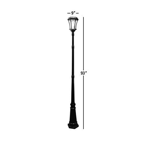 Long Light Fixture Amazon Com Gama Sonic Victorian Solar Lamp Post And