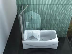 duschtrennwand badewanne eck duschtrennwand perinto 70 badewanne