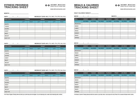 Fitness Tracking Spreadsheet by Best Photos Of Track Work Out Your Sheet Workout