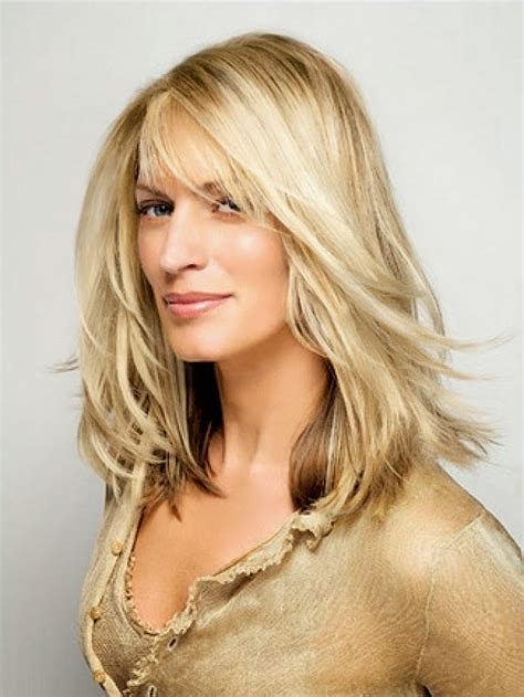 hair styles for thin faces over 40 15 inspirations of long hairstyles for round faces and