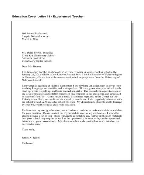 cover letter for teacher viaggifotografici info