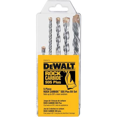 Stanley Sds Mansory Dril Bit Sta54002 dewalt dw5470 5 rock carbide sds plus drill bit set
