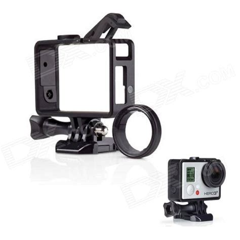 Frame Gopro fixed frame w filter for gopro 4 3 3 black free shipping dealextreme