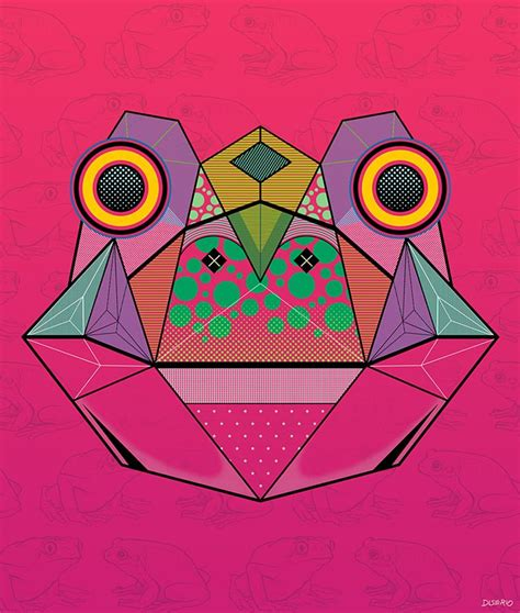pattern and shape by kurt rowland 34 best images about geometric animals on pinterest