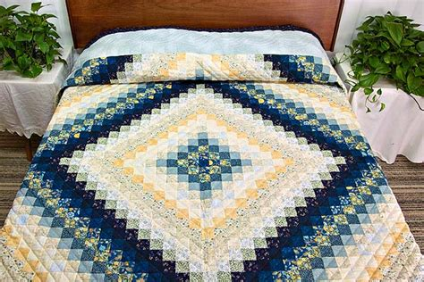 Trip Around the World Quilt    terrific specially made Amish Quilts from Lancaster (hs4485)
