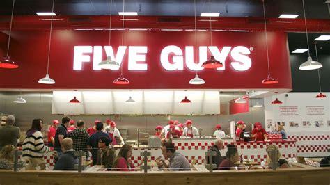 five guys five guys disneyland restaurants