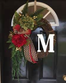 Initial Front Door Wreaths Best 25 Initial Door Wreaths Ideas On Initial Door Letters Letter Door Wreaths And