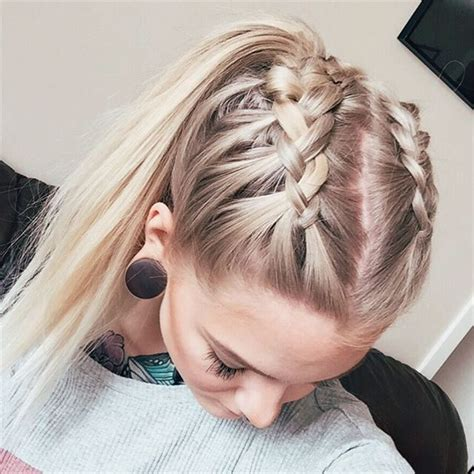 easy hairstyles with plaits best 25 two french braids ideas on pinterest