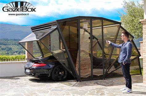 car gazebo gazebox a fancy glass gazebo to show your car