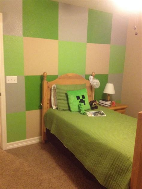 bedroom in minecraft boys minecraft bedroom kids bedroom ideas pinterest