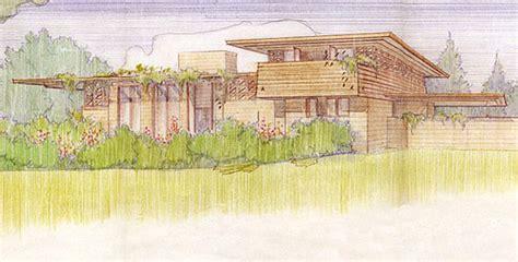 House Plans Oregon frank lloyd wright