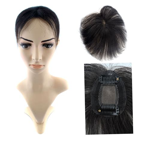 hair toppers for 7 5 5 5cm women human hair top piece closures topper clip