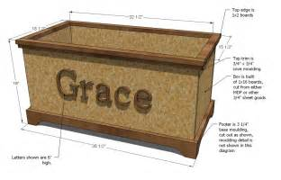 Woodworking Plans Free Toy Box by Ana White Build A Toybox Or Toy Chest Diy Projects