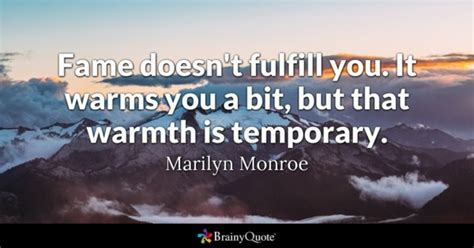 marilyn monroe quotes page 3 brainyquote fame quotes brainyquote