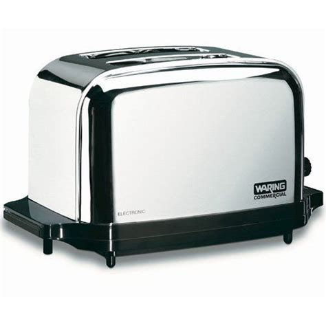 Industrial Toaster Waring Commercial Toaster 2 Slice Capacity Wct702
