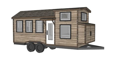 Micro House Plans by Ana White Quartz Tiny House Free Tiny House Plans