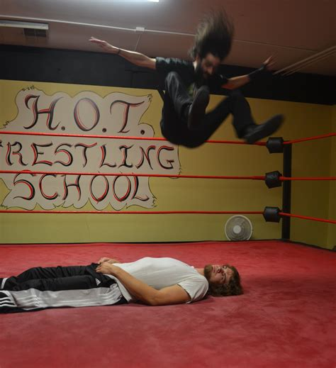 wwe wrestling ring bed path to pro wrestling is a hard road ou news bureau