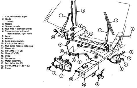repair windshield wipe control 1993 chevrolet blazer instrument cluster repair guides windshield wipers wiper linkage autozone com