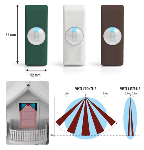 sensori a tenda doppia tecnologia bentel sensore a tenda doppia tecnologia myni dt cut eea security