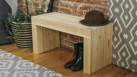 make a work bench how to build a stylish wood bench danmade watch dan