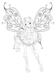 print amp download cute winx club coloring pages