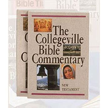 new collegeville bible commentary one volume hardcover edition books the collegeville bible commentary 2 vol paperback set