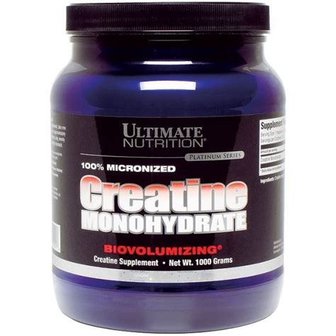 Suplemen Creatine Monohydrate 210rb 085642299885 Creatine Monohydrate Ultimate