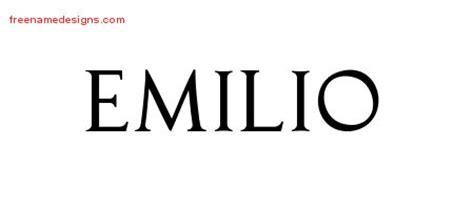 tattoo name emilio emilio archives page 2 of 2 free name designs
