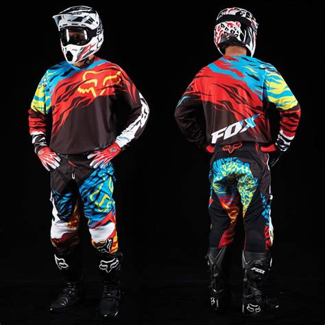 fox racing motocross gear fox racing 2014 360 forzaken gear set threads