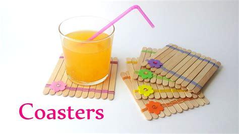 craft images diy crafts coasters using sticks innova