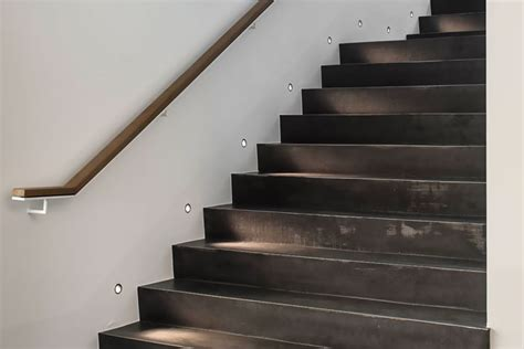 ideen zur wandbeleuchtung kreatives licht f 252 r w 228 nde - Wandbeleuchtung Treppe
