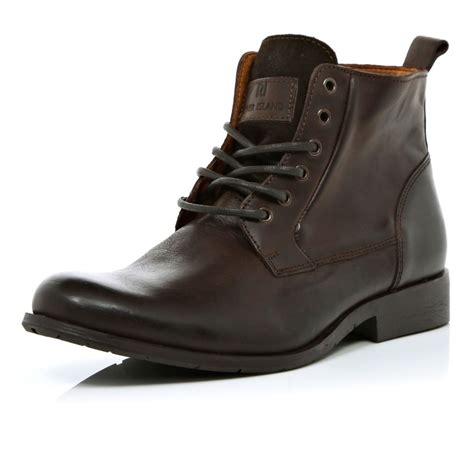 mens lace up biker boots brown lace up biker boots shoes boots sale