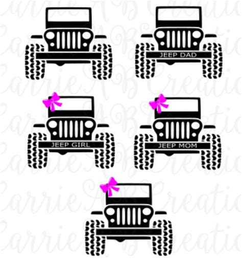 jeep decal with bow jeep jeep jeep with bow jeep without bow jeep